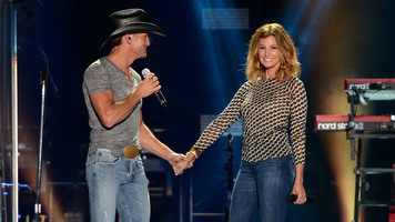 Tim McGraw with Faith Hill