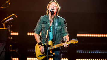 Keith Urban Makes His National Anthem Debut At The Nashville Predators' Playoff Game
