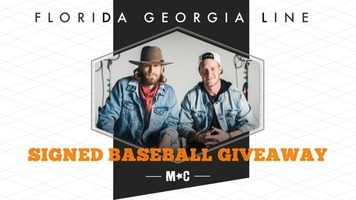 Win an Autographed Baseball Signed by Florida Georgia Line, Nelly, Backstreet Boys & Chris Lane!
