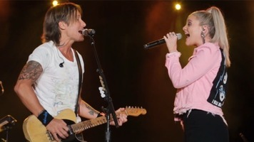 Keith Urban & Lauren Alaina Team Up For Live Duet