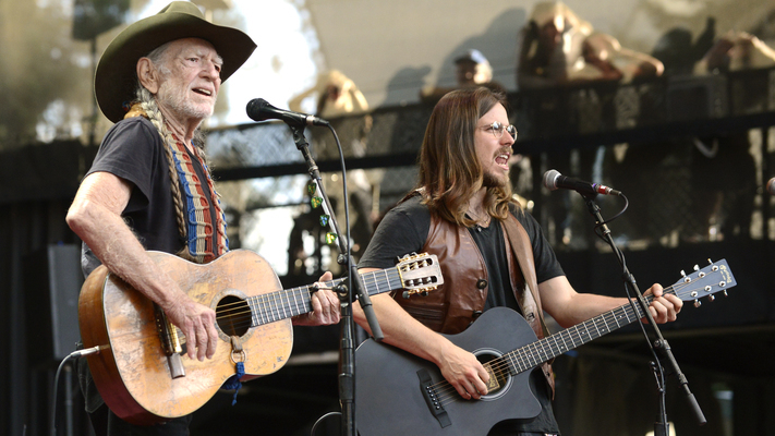 Lukas & Willie NelsonDebut New Father-Son Collaboration
