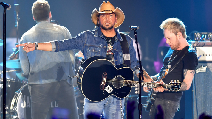 Jason Aldean Performs on The'Today' Show