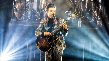 Harry Styles Goes Country, Performs 'Girl Crush' at The Ryman