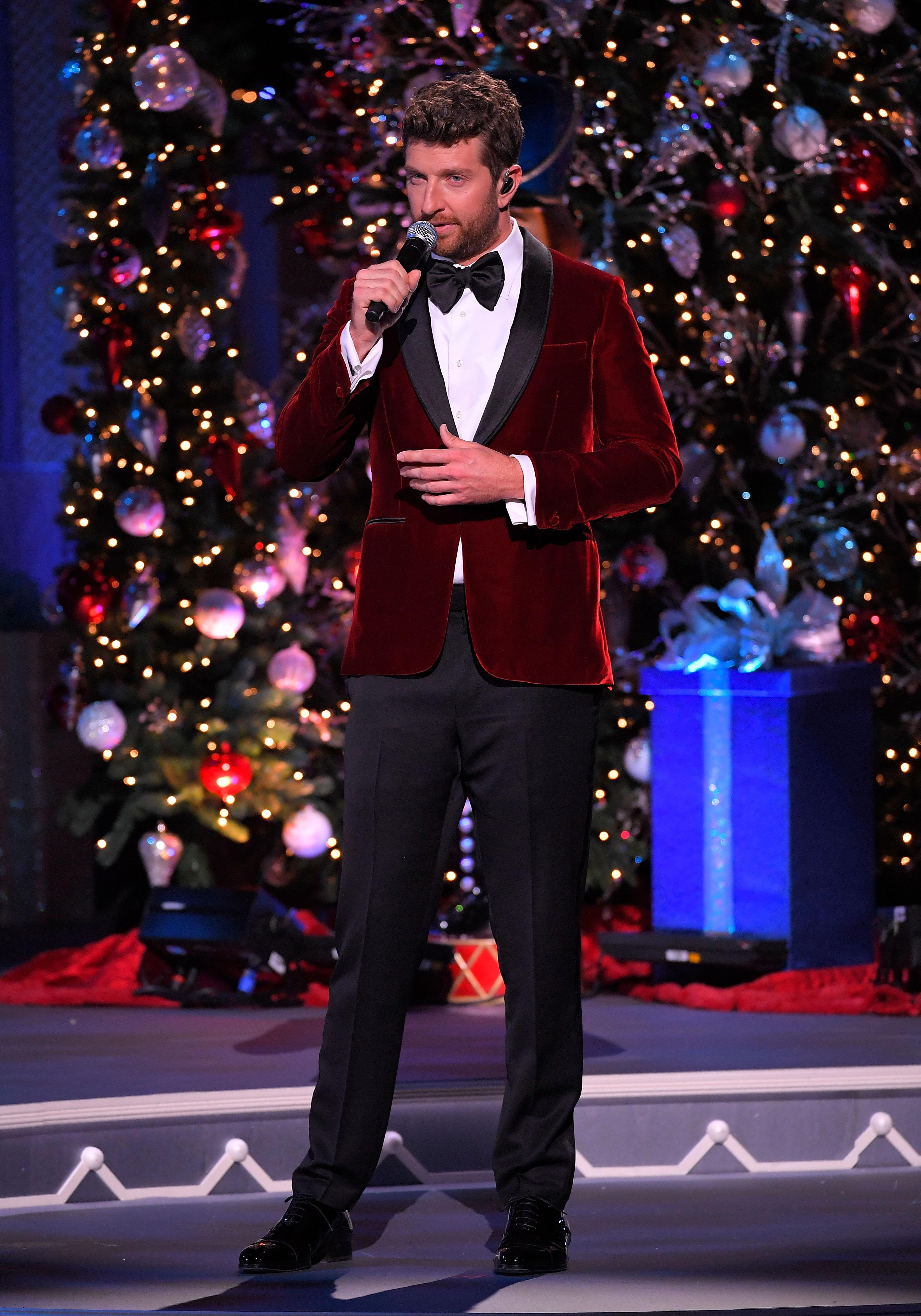 Brett Eldredge Performs On Good Morning America News