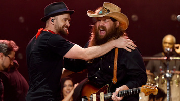 Chris Stapleton To Be Featured On Justin Timberlake's Album