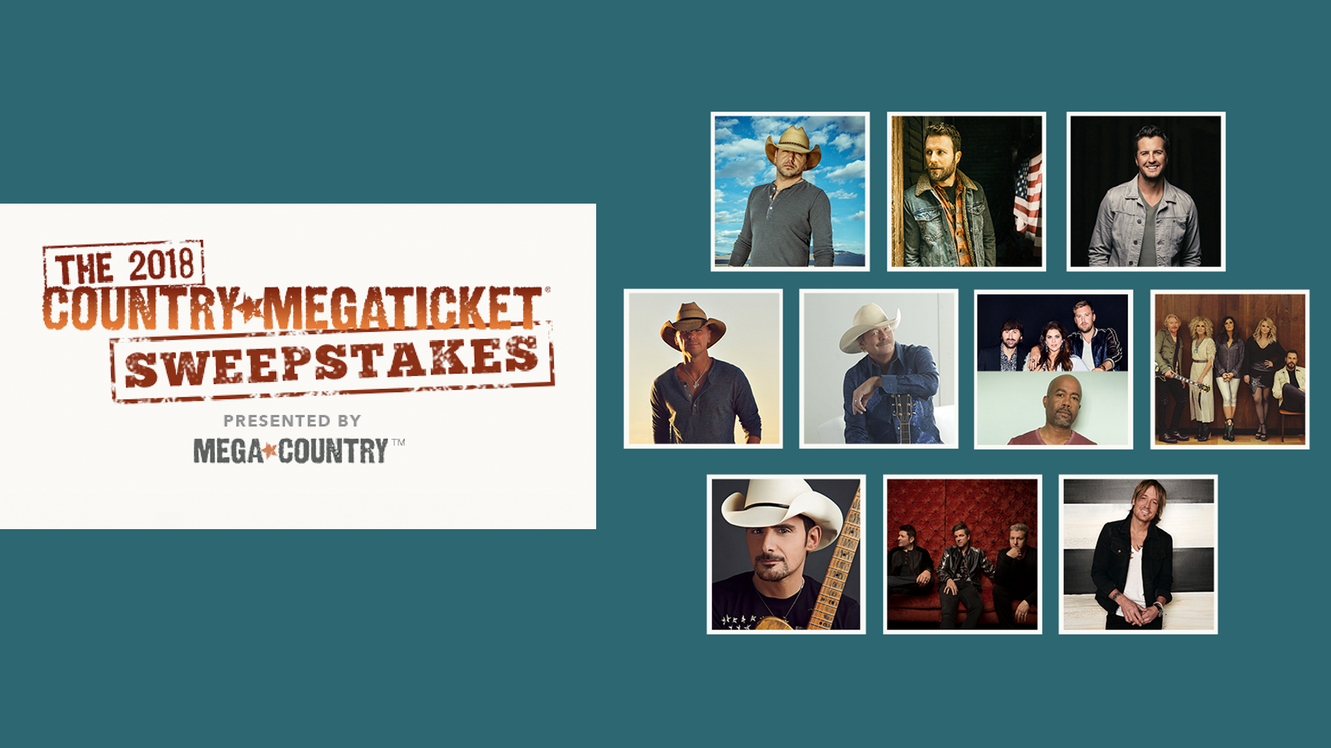 The 2018 Country Megaticket ® Sweepstakes | News | MegaCountry