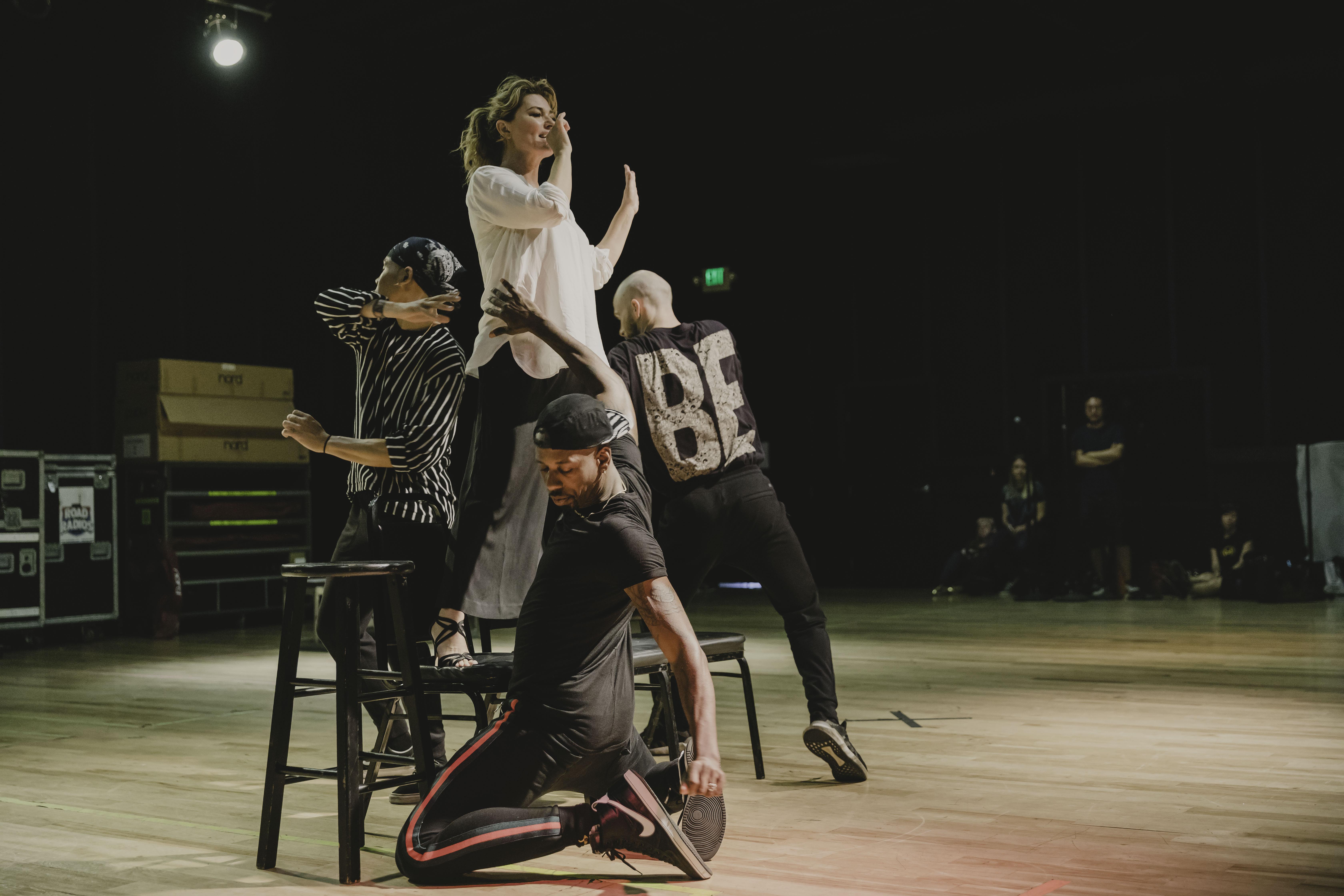 Watch] Shania Twain Shares NOW Tour Rehearsal    | News