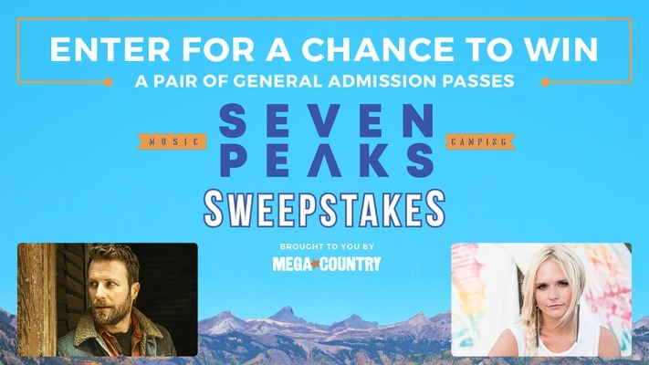 Seven Peaks Festival Sweepstakes - Enter For A Chance To Win