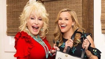Reese Witherspoon Shops In Dolly Parton's Closet!