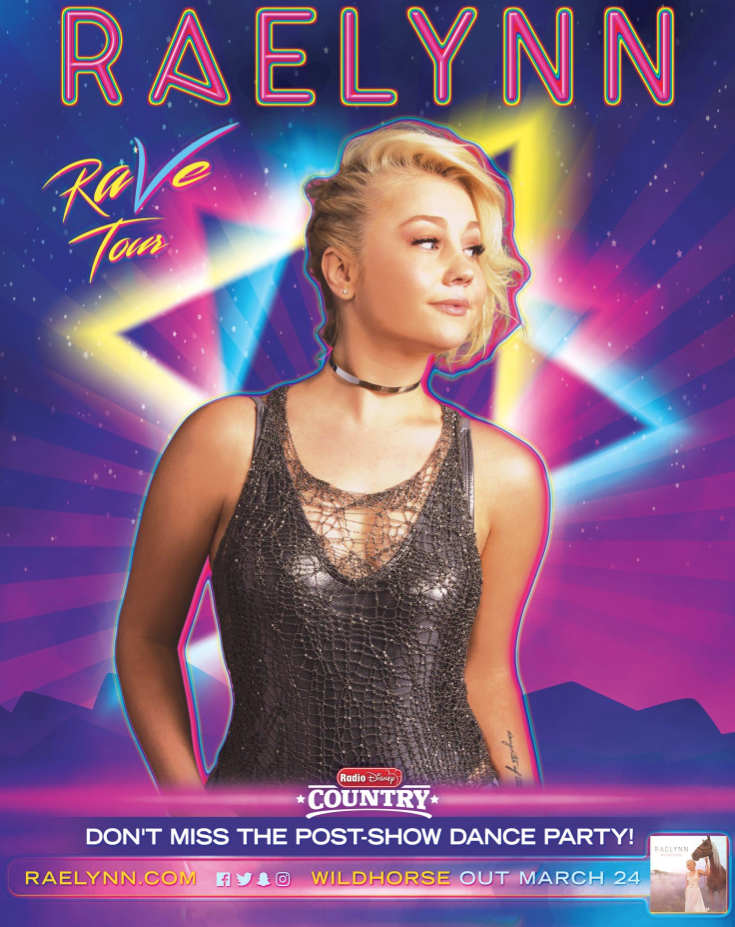 RaeLynn Announces Plans For 2017 Spring Club Tour | News