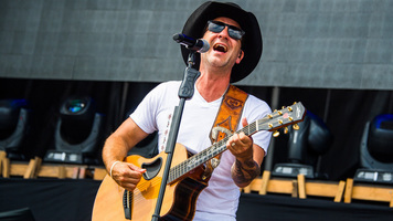 See Exclusive Shots Of Craig Campbell at Faster Horses Festival