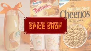 One Stop Pumpkin Spice Shop - Spice Up Your Life