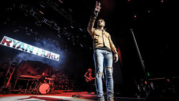 Ryan Hurd Hits The Stage In Our Exclusive Gallery