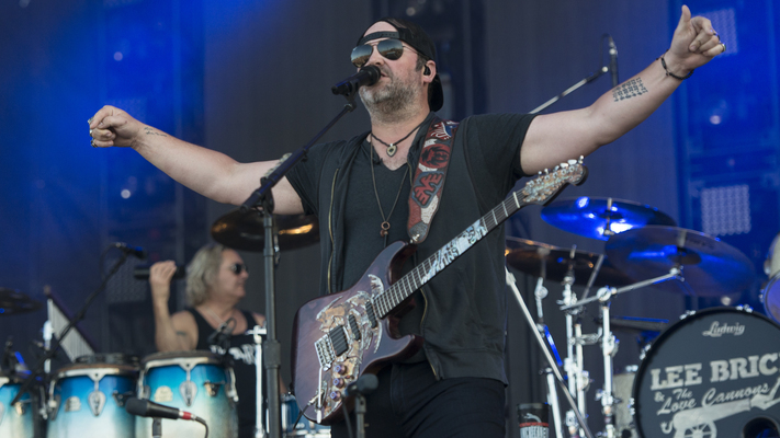 Hot Shot: Lee Brice Rocks At LakeShake Fest