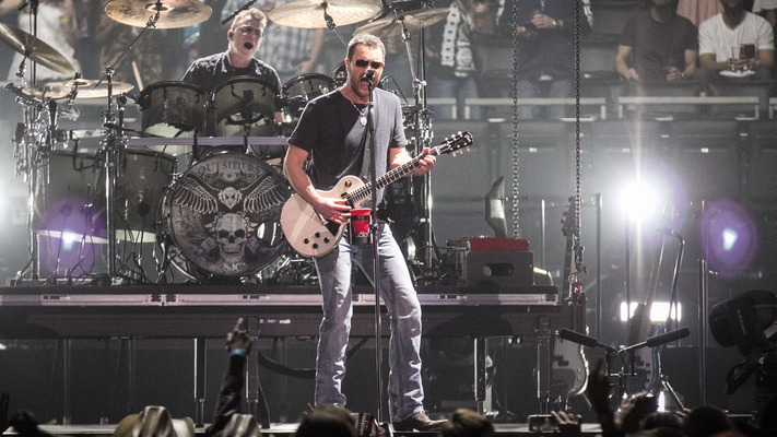 Eric Church Takes Outsiders Tour to Cali - See 7 Pics!