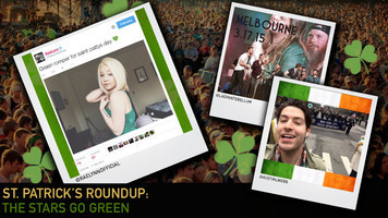 St. Patrick's Day Recap – What were your favorite stars up to?