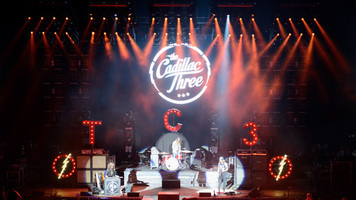 The Cadillac Three Hit the Stage