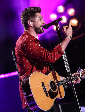 Thomas Rhett performs on the Nissan Stadium stage during day 3 of the 2017 CMA Music Festival on June 10, 2017 in Nashville, Tennessee.