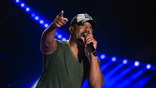 Darius Rucker performs on the Nissan Stadium stage during day 4 of the 2017 CMA Music Festival on June 11, 2017 in Nashville, Tennessee.