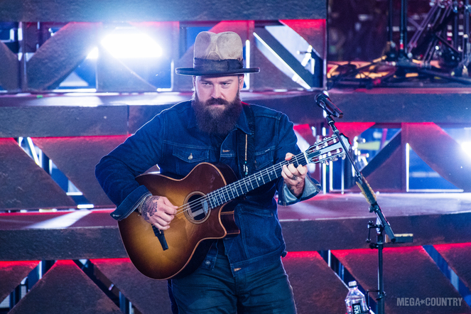 Zac Brown Band performs Live at the DTE Energy Music Theatre in Clarkston, Michigan on June 8, 2017.