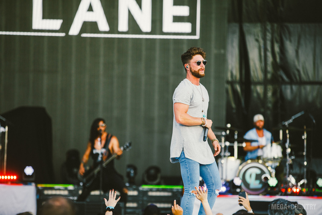 Chris Lane performs at the Northwell Health at Jones Beach Theater in Wantagh, New York on Thursday, June 15, 2017.
