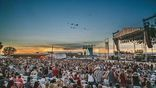 <p>Chris Young had one heck of a view this weekend!</p>