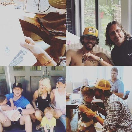 Chris Janson put it simply: he loves being a dad.