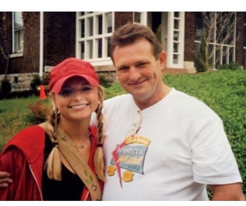 Miranda Lambert thanks her dad for giving her life, love, music, and dimples!