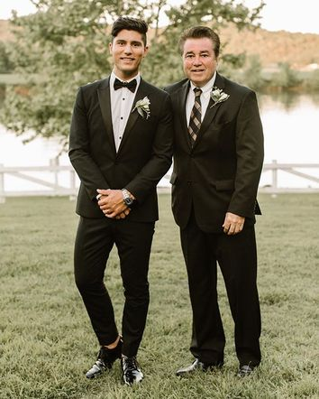 Dan Smyers from Dan + Shay posted a dapper picture with his dad, who has taught him so much throughout the years!
