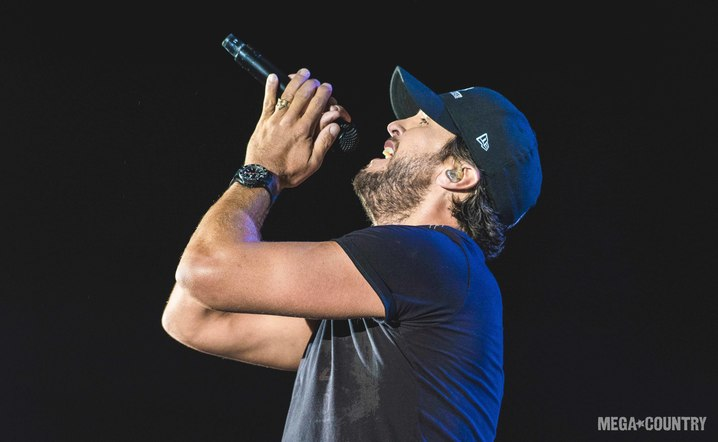 Luke Bryan performs on the Main Stage at the Watershed Music Festival at the Gorge Amphitheater on Sunday, July 30, 2017.
