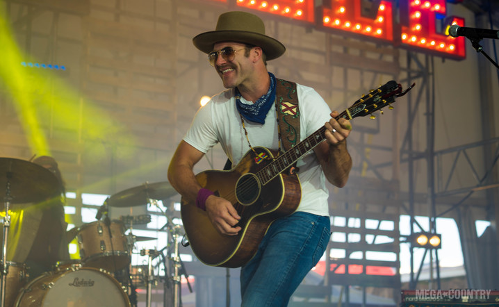 Drake White and the Big Fire performs on the Next From Nashville Stage at the Watershed Music Festival at the Gorge Amphitheater on Sunday, July 30, 2017.