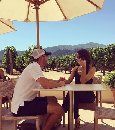 Drew Baldridge pulled a little double duty with a stop in the picturesque Napa Valley with his lady friend while out on the road touring!