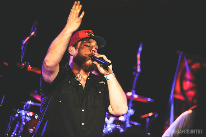 Luke Combs performs at the Roxy theatre in West Hollywood, California on Tuesday, October 3, 2017.