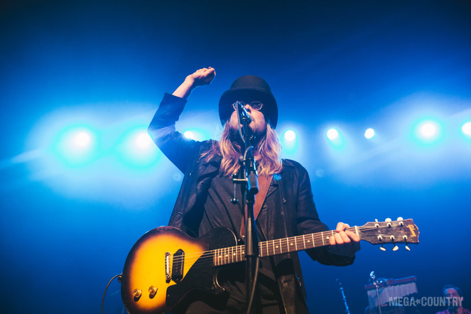 Lukas Nelson & The Promise Of The Real perform at The Fonda Theatre in Los Angeles, California on Wednesday, October 4, 2017.