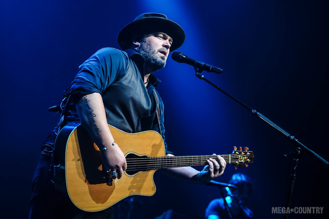 Lee Brice performs at The Novo located in Downtown Los Angeles, California on Thursday, October 5, 2017.