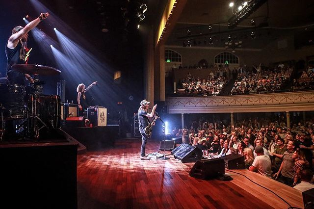 "The Cadillac Three had ""the best night"" at the Ryman in early September."