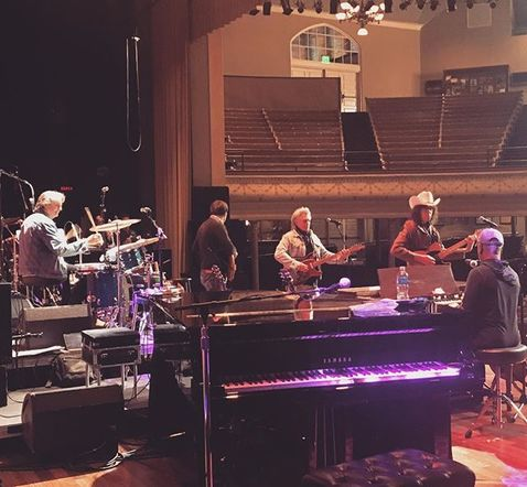 Before Marty Stuart was late-night jammin', he soundchecked with Booker.