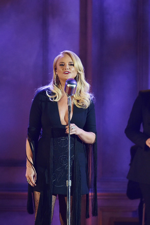 Miranda Lambert performs onstage at the 51st annual CMA Awards at the Bridgestone Arena on November 8, 2017 in Nashville, Tennessee.