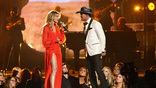 Faith Hill and Tim McGraw perform onstage at the 51st annual CMA Awards at the Bridgestone Arena on November 8, 2017 in Nashville, Tennessee.