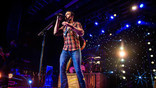 Easton Corbin performs at the House of Blues in Anaheim, California on Sunday, November 12, 2017.
