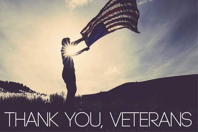 Maddie & Tae posted a beautiful graphic to share their love with all veterans.