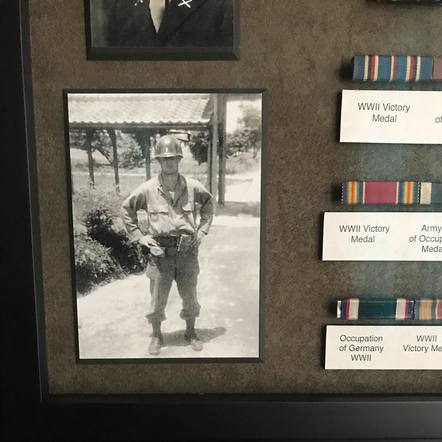 Dierks Bentley shared a photo of his dad in combat during WWII to thank all Veterans.