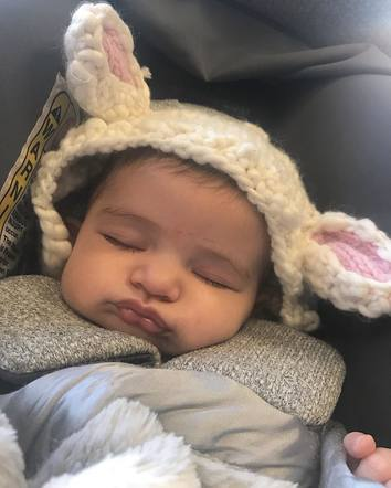Lauren Akins shared the most precious photo of her and Thomas Rhett's little girl, Ada James, all bundled up for the colder weather.