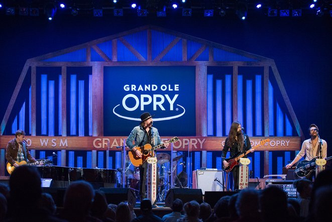 A Thousand Horses is always honored to play the Grand Ole Opry.