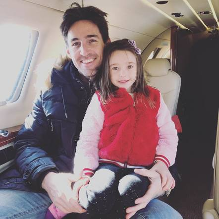 Jake Owen can't wait to see his daughter go to school in the New Year!