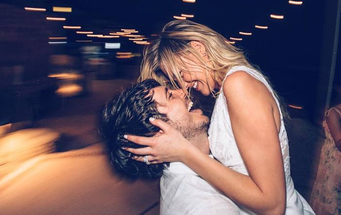Kelsea Ballerini and husband Morgan Evans are spending 2018 as newlyweds!