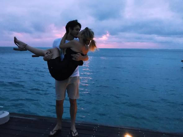 Kelsea Ballerini and Morgan Evans escaped the winter weather to go on their beautiful honeymoon