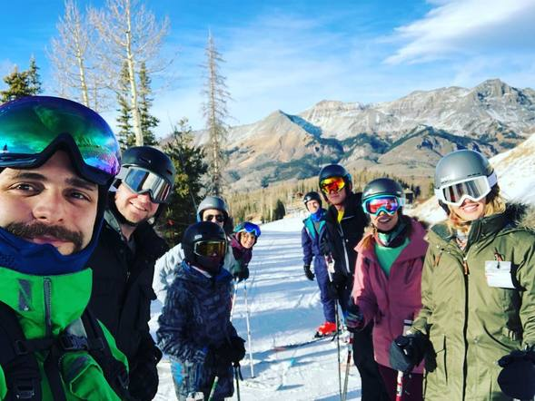 Thomas Rhett and his family made the most of the snow and hit the slopes!