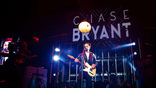 Chase Bryant performs on Brad Paisley's Weekend Warrior World Tour at the Staple Center in Los Angles, California on Thursday, January 25, 2018.