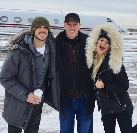 Kelsea and Morgan even got to fly back with a NFL Hall of Famer from the Buffalo Bills!